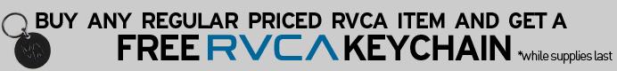 RVCA Keychain